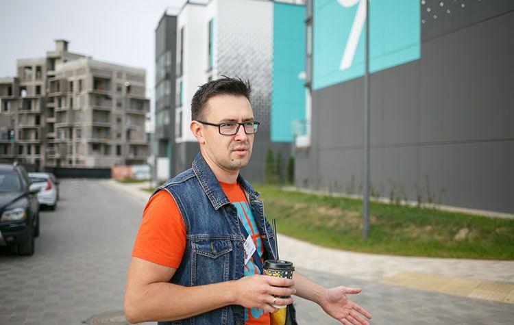 архитектор «А-100 Девелопмент» Егор Ралько