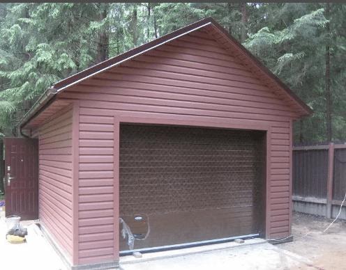 Купить гараж металлический рб сделать смотровую яму в железном гараже