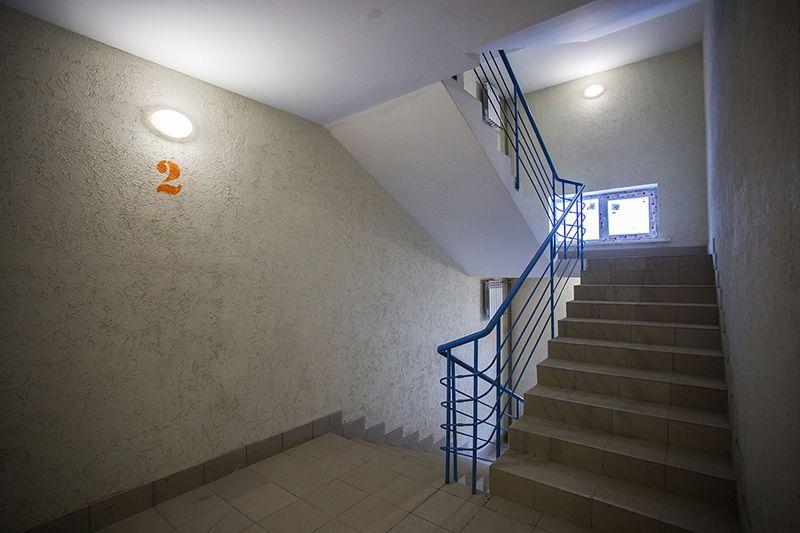 Освещение лестничной площадки
