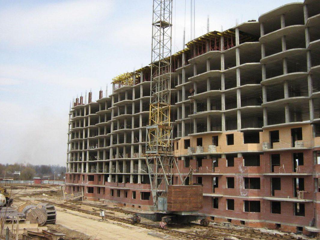 этапы строительства многоэтажного дома