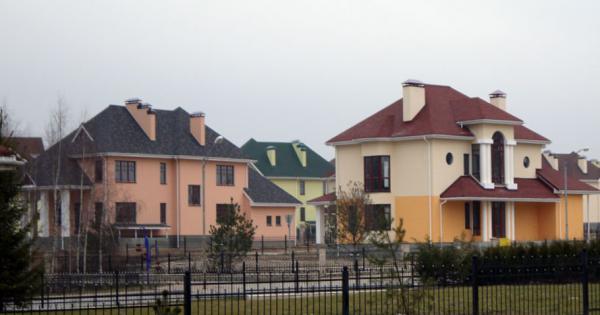 Количество сделок с загородной недвижимостью сократилось на 41,1%